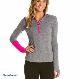 Asics Thermopolis Activewear Half Zip Running Top